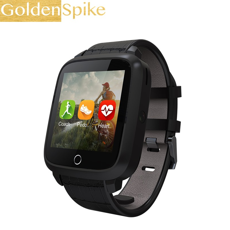Fashion Business Watch U11s 1G RAM 8G Memory ROM MTK6580 Quad Core WIFI Bluetooth GPS Heart Rate Monitor Smart Watch Android 5.1 цена и фото