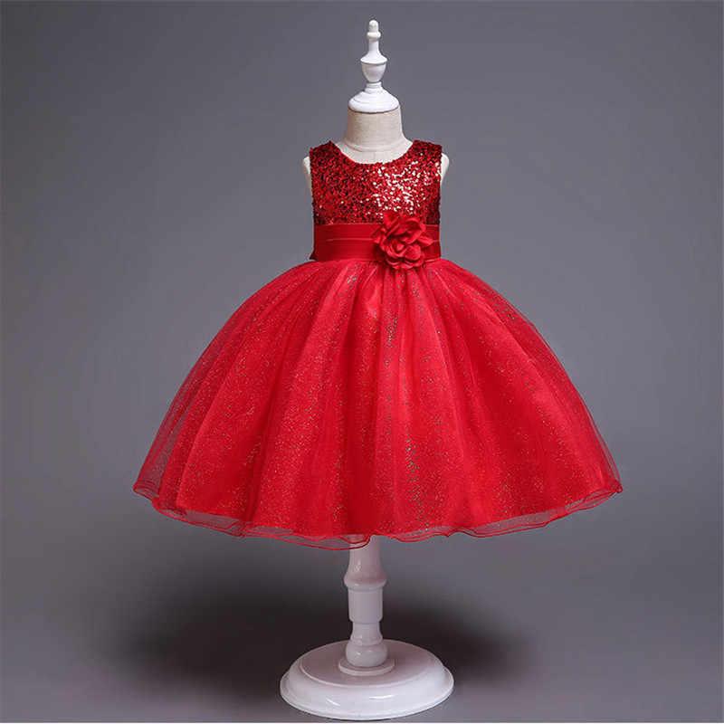 Платье для девочек с цветочным принтом детское платье пачка на день рождения и