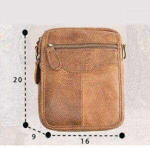 Image 5 - AETOO Top di Vendita di Modo Classico Solido di Marca Famosa Uomini di Affari della Cartella del Cuoio Genuino Del Sacchetto Ufficio Casual Uomo Borse A Spalla