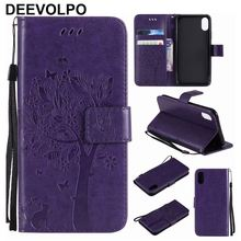 Mobile Phone Bags Leather For Lenovo A6020 K5 Plus A2020 Vibe C ZUK Z2 Pro Holster Card Slot Tree Cat Butterflies Embossing P06Z protect защитная пленка protect для lenovo vibe c a2020