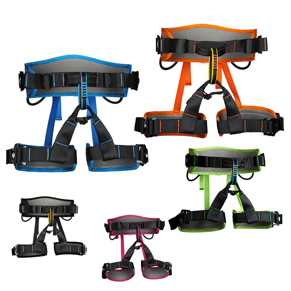 Image 3 - XINDA Camping Safety Belt Rock Climbing Outdoor Expand Training Half Body Harness Protective Supplies Survival Equipment-in Climbing Accessories from Sports & Entertainment