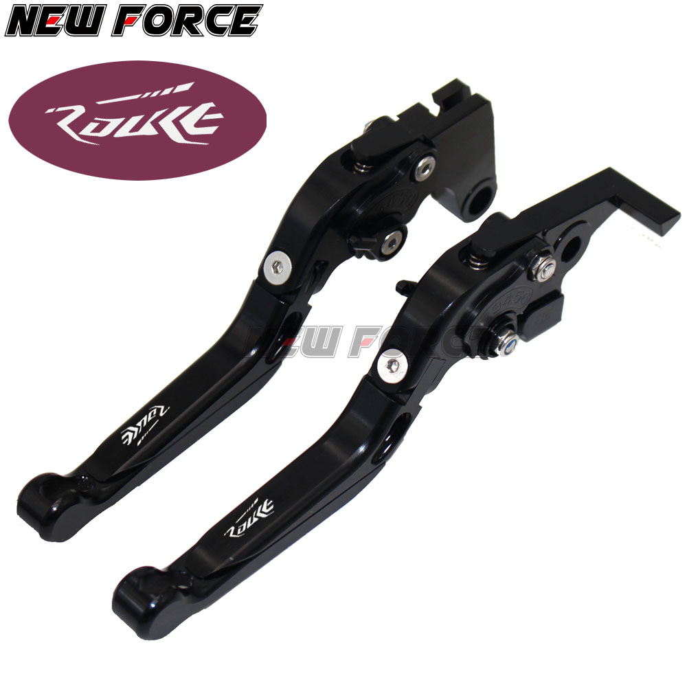 For KTM 690 DUKE SMC R Enduro R 2014 2015 2016 Motorcycle Accessories Adjustable Folding Extendable Brake Clutch Levers Orange in Levers Ropes Cables from Automobiles Motorcycles