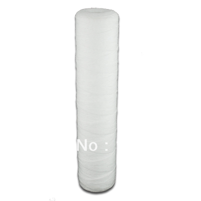 Coronwater 4.5 x 20 Big Wound String Polypropylene 5 micron Water Filter Cartridge exit wound