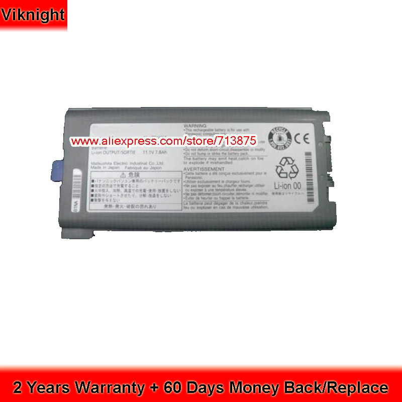 Genuine CF-VZSU46 Battery for Panasonic CF-30 CF-31 CF-53 CFVZSU46S CF-VZSU46AU CF-VZSU46S CF-VZSU72U 8550mAh 87Wh ag552 2k cf