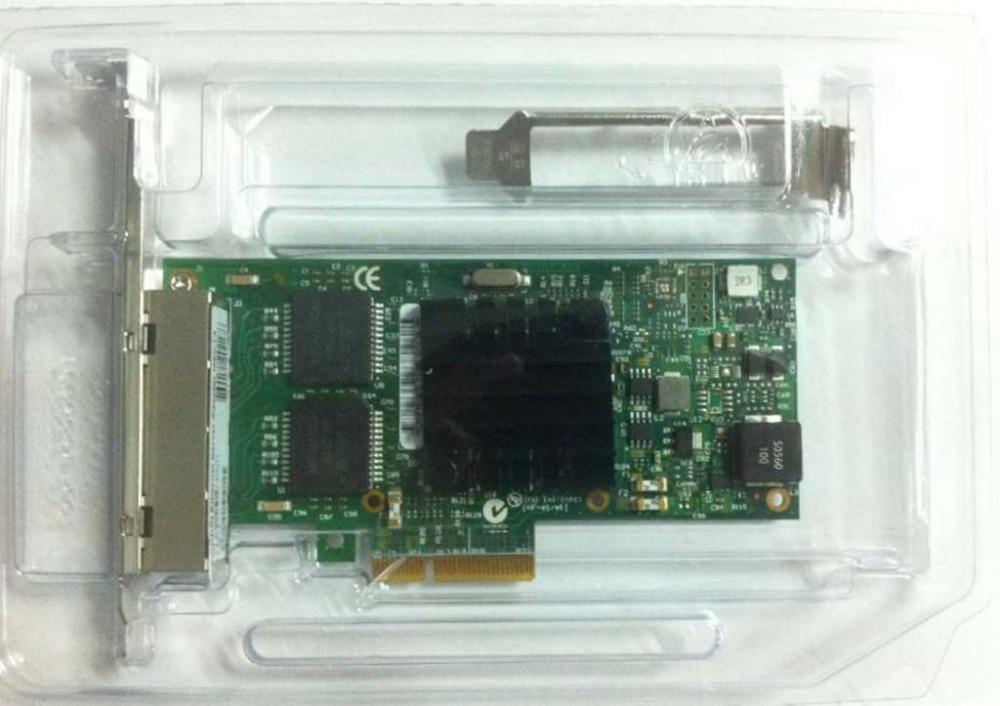I350 T4 PCI Express PCI E Four RJ45 Gigabit Ports Server Adapter