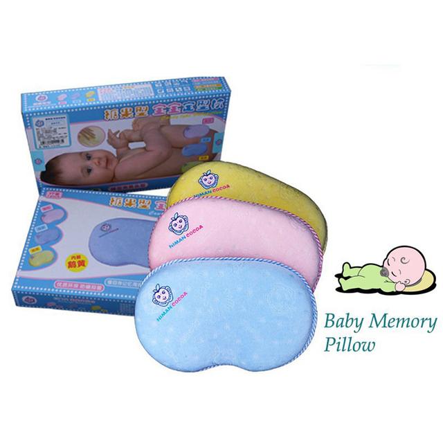 Linda de algodão puro sono cabeça posicionador cabeça chata travesseiro de espuma de memória, Formação de espuma da memória pescoço travesseiro