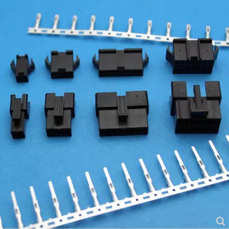 2.5mm space pitch Connectors terminals 2Pins-24pins plastic shell +terminals