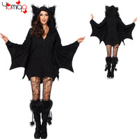 Hot Animal Halloween Costumes For Women Cheap Bodysuit Lady Carnival Costume Sexy Uniform Bat Women Halloween