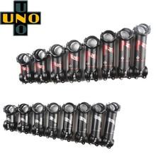 UNO 7 легкий 7050 Алюминий для езды на горном велосипеде стволовых 31,8*60/70/80/90/100/110/120/130 мм 7/17 градусов