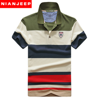 새로운 2017 남성 polo 셔츠 영국 원래 브랜드 nianjeep 의류 aeronautica 군사 짧은 소매 캐주얼 에어 포스 스트라이