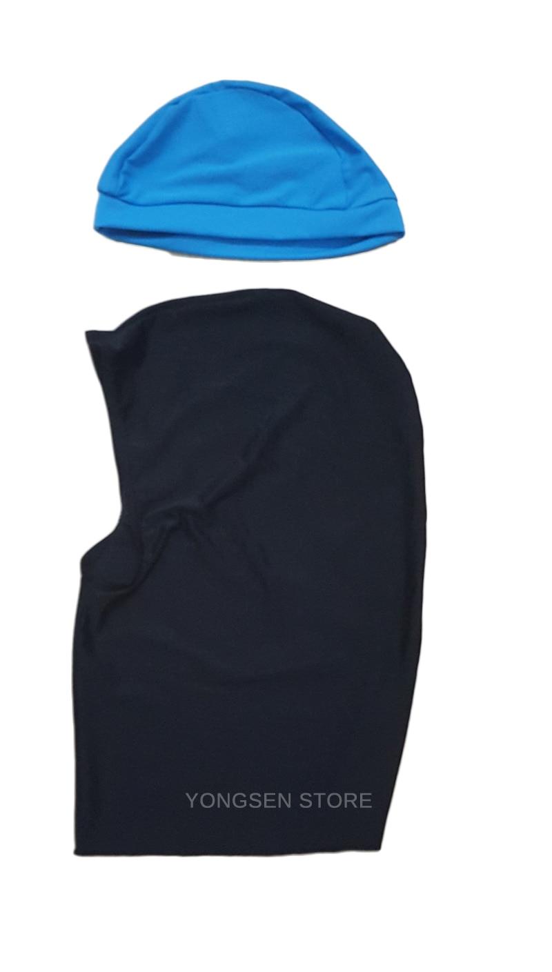 Muslim Women Spa Swimwear Islamic Swimsuit Full Face Hijab Swimming Beachwear Swimsuit Sport Clothing Burkinis