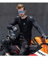 Мотоцикл MX Панцири мотоцикл впитывающие пот памяти Панцири одежда