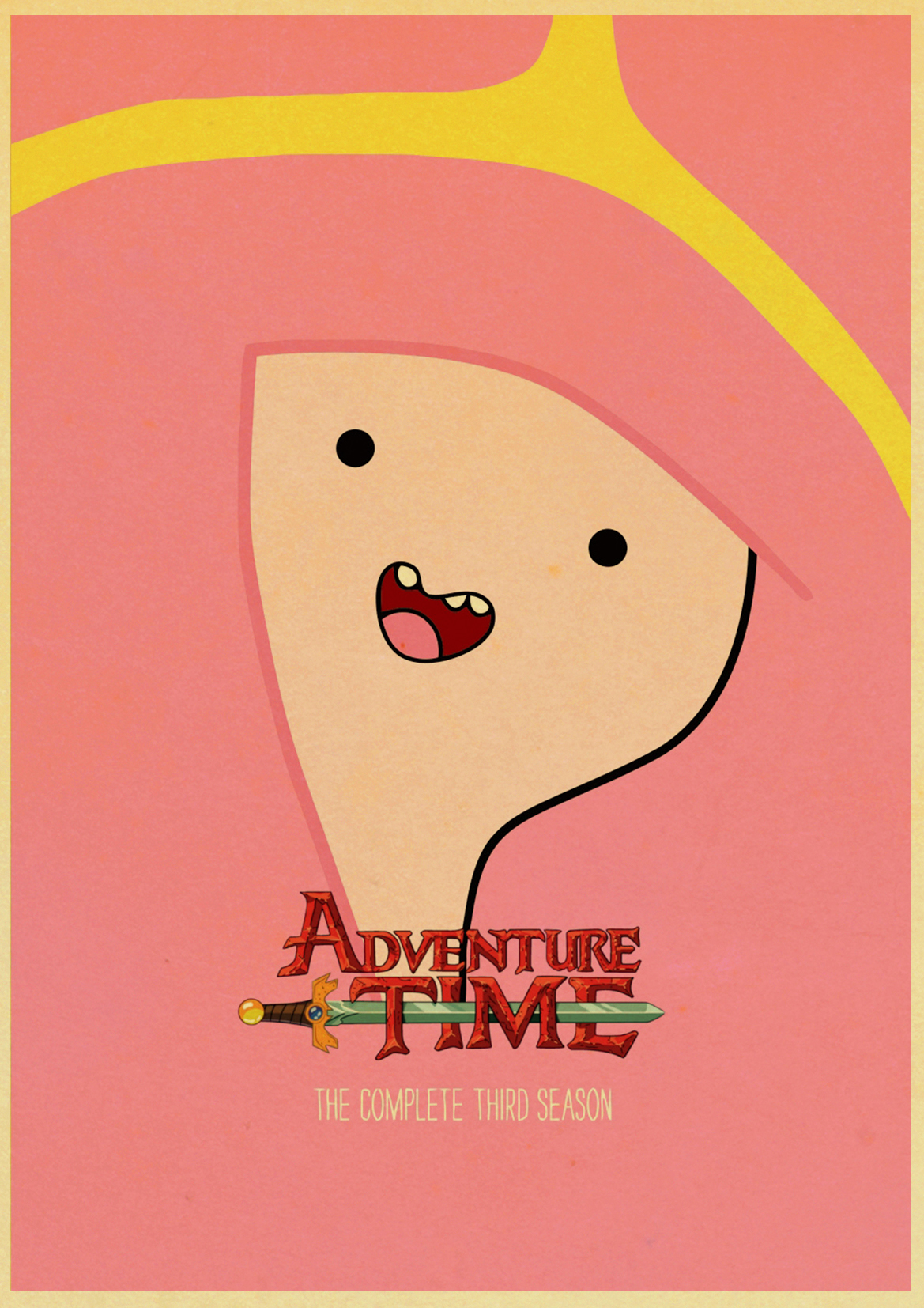 Adventure Time with Finn and Jake Poster Classic Cartoon Movie Retro ...
