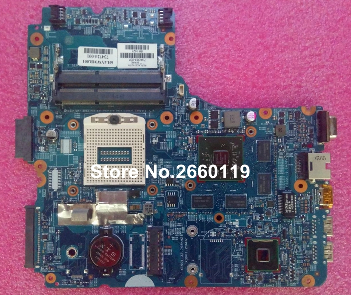 laptop motherboard for HP 450 440 G1 734083 001 system mainboard, fully tested
