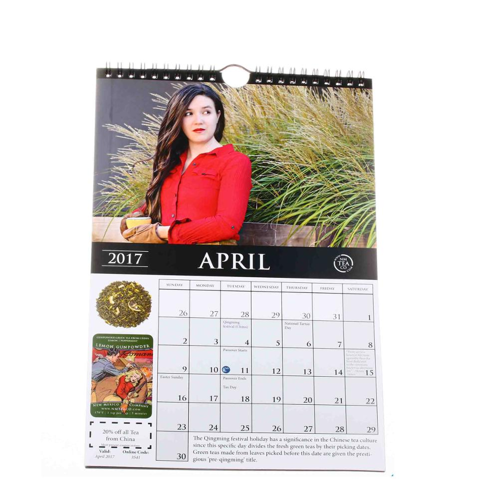 Can't Be More Attractive Quality Printing Wall Calendar