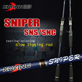 KUYING Sniper 1.8m Light Slow Jigging Casting Spinning Lure Carbon Sea Fishing Rod Cane Fish Pole Cane 1.5 Section Free Shipping