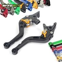 BIKINGBOY 6 Position Short Straight Brake Clutch Levers for Aprilia Dorsoduro 750 SM SHIVER 750 RA 07 08 09 10 11 12 13 14 15 16