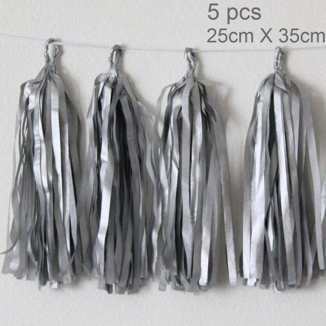 5pc Silver tassel Presents for one year old boy 5c64f7ebefc29
