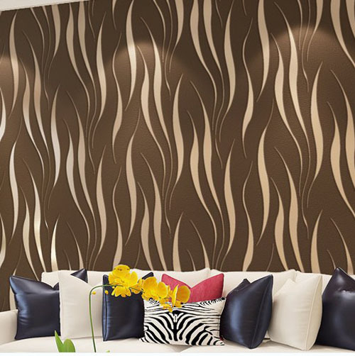 New Modern Luxury 3d Seamless Wall Paper Furniture Sticker Living Room Bedroom Wallpaper