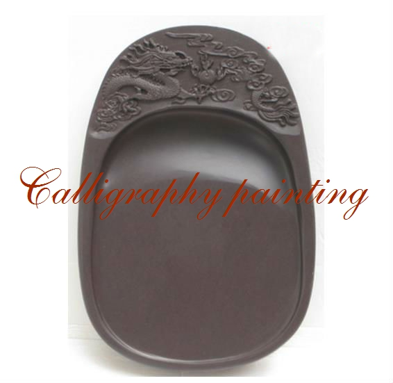 6 Inches Chinese Zhaoqing Duan Yan Ink Stone Carved Dragon Inkstone Calligraphy Painting Tool 15643 chinese zhaoqing song keng inkstone horse pattern inkstone calligraphy painting tool 12838