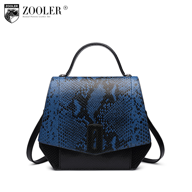 Hot genuine leather Handbag 2018 New Genuine Leather Bags elegant pattern Serpentine Ladies Tote bolsas women shoulder bags#B153 yuanyu 2018 new hot free shipping real python skin snake skin color women handbag elegant color serpentine fashion leather bag