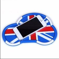 Union Jack modelo de coche Anti antideslizante estera para el teléfono móvil sostenedor para Mini Cooper