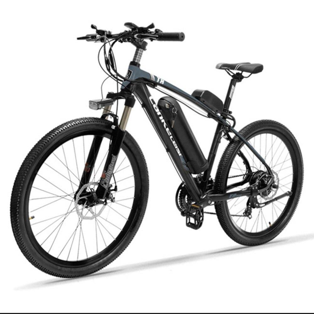 Rower elektryczny 48v 400W dwa koła rower elektryczny rower górski Ebike dorosłych skuter elektryczny z hamulcem i układ zawieszenia