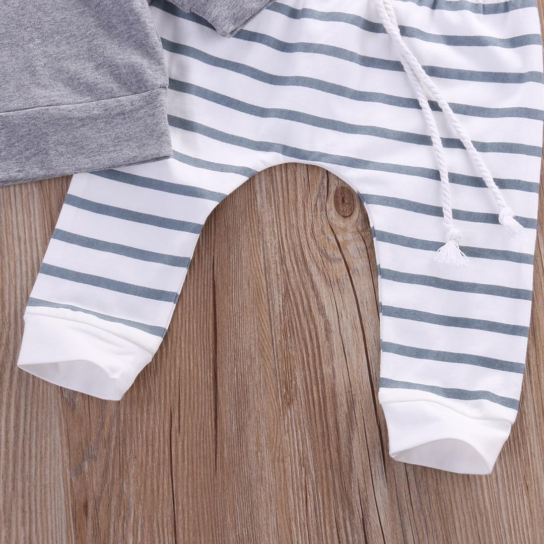 2 pz 2016 Nuovo autunno della neonata vestiti Dei Ragazzi set Newborn Baby  Boy Ragazza Caldo Cappotto Con Cappuccio Tops + Pants Outfits Sets in 2 pz  2016 ... 8cd567fab3d