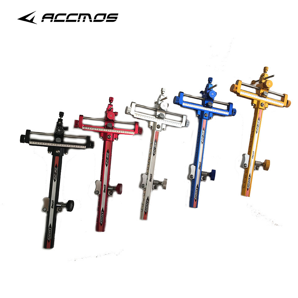 Decut  DC-RE Archery Composite Sight Recurve Arrow Aluminum Sight For Recurve Bow Hunting Bow Accessory