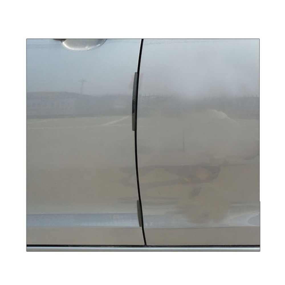 8 Stuks Auto Suv Side Door Edge Protector Beschermende Strip Schrapen Guard Bumper Guards Handvat Cover Zwart Wit Transparant