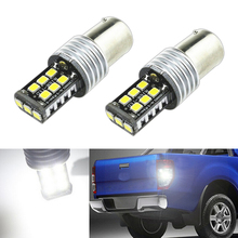 цена на 2x 1156 P21W High Power Canbus No Error Car LED Rear Reversing Tail Bulb For Volkswagen Passat B1 B2 B4 B3 B5 B6 T4 T5
