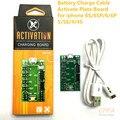 Carga de la batería cable profesional tablero de placa para iphone 6sp activar/6 s/6 p/6/5S/5/4S/4 compras libres