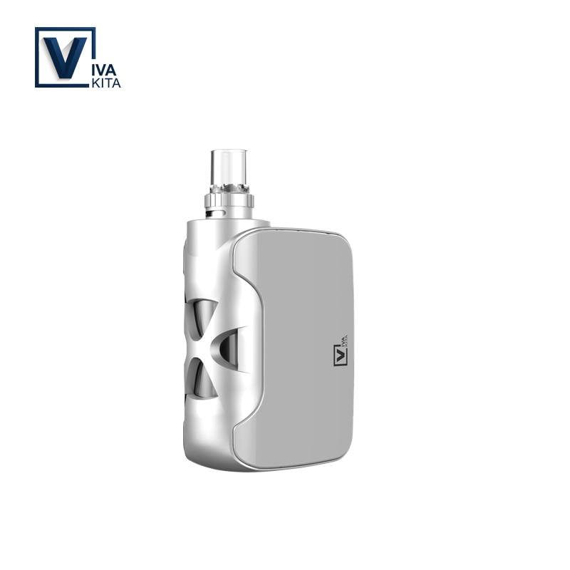 Elektronische zigarette Fusion 1500 mah Mini Vape Stift 2,0 ml vape kit 0.25ohm Verdampfer e zigarette modische tragbare Vape box kit