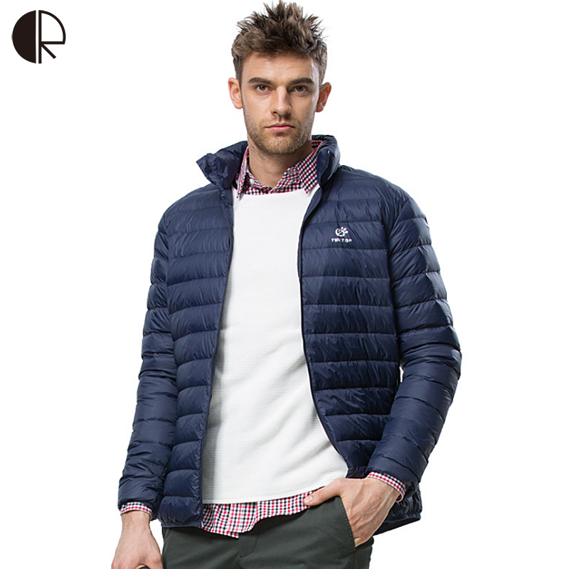 Down Feather Jacket Men