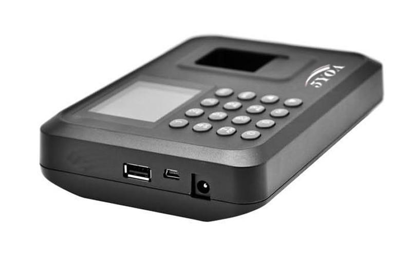 HTB1OZUcFh1YBuNjy1zcq6zNcXXaF A01 Biometric Attendance System USB Fingerprint Reader Time Clock Employee Control Machine Electronic Device Spanish Spain En