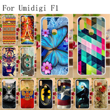 Anunob For UMIDIGI F1 Case Silicone Anti-knock TPU Full Protective Back Cover UMI DIGI Play 6.3 inch