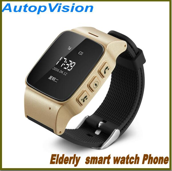 цена на NEW Smart Watch D99 Elderly Phone SOS Anti-lost Gps+Lbs+Wifi Tracking Watch for iphone iOS Android phones Old Men Women