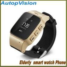 Nuevo reloj inteligente d99 teléfono ancianos SOS anti-perdido GPS + lbs +  WiFi seguimiento reloj para iPhone ios teléfonos Andr.. 425875b175de