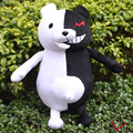 "Super Dangan Ronpa 2 Anime Cosplay 40cm 16""Danganronpa MonoKuma Black & White Bear Plush Doll Toy Free Shipping"