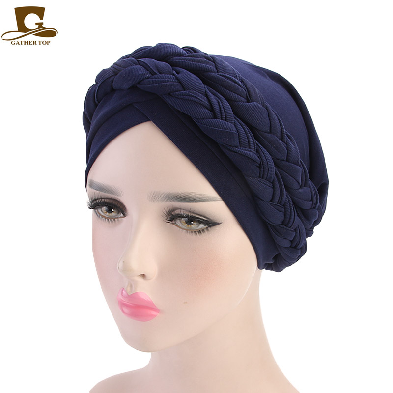 Eastern Floral Ultra Soft Ready Made Elasticated Cancer Chemo Head Scarf