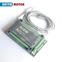 4 Axis NVEM CNC Controller 200KHZ Ethernet MACH3 Motion Control Card for Stepper Motor Servo motor from RATTM MOTOR