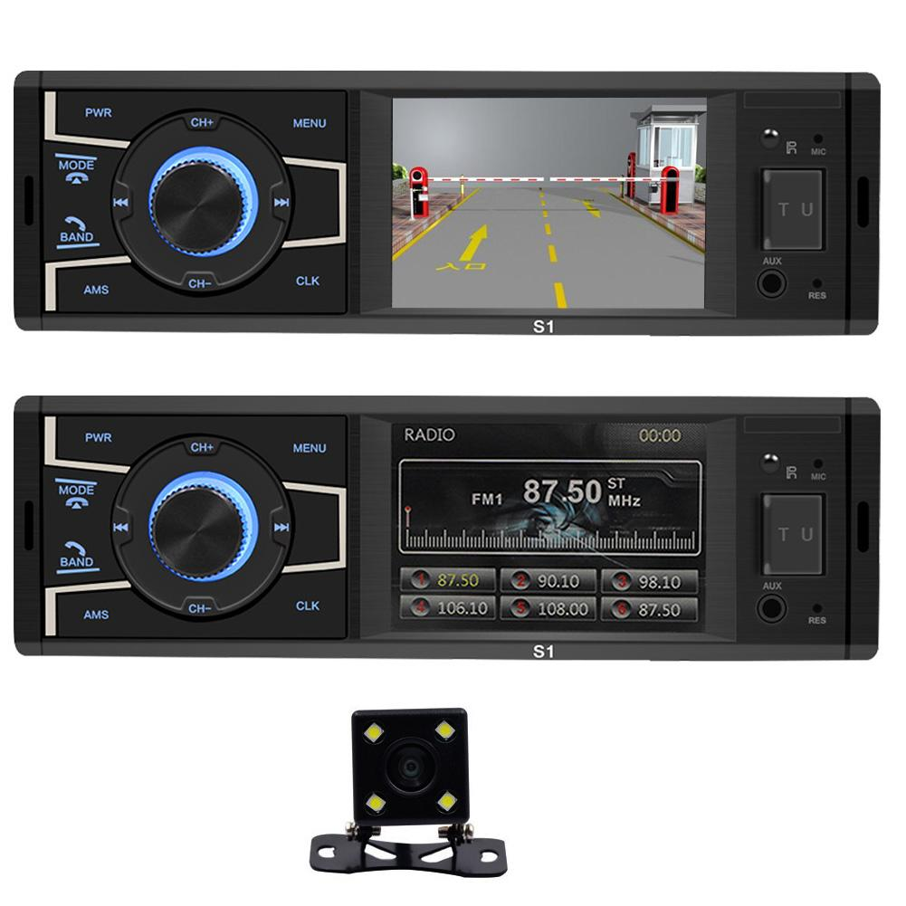 S1 3 2 inch 1 Din WIN CE Car Stereo MP5 Player Screen Bluetooth Head Unit