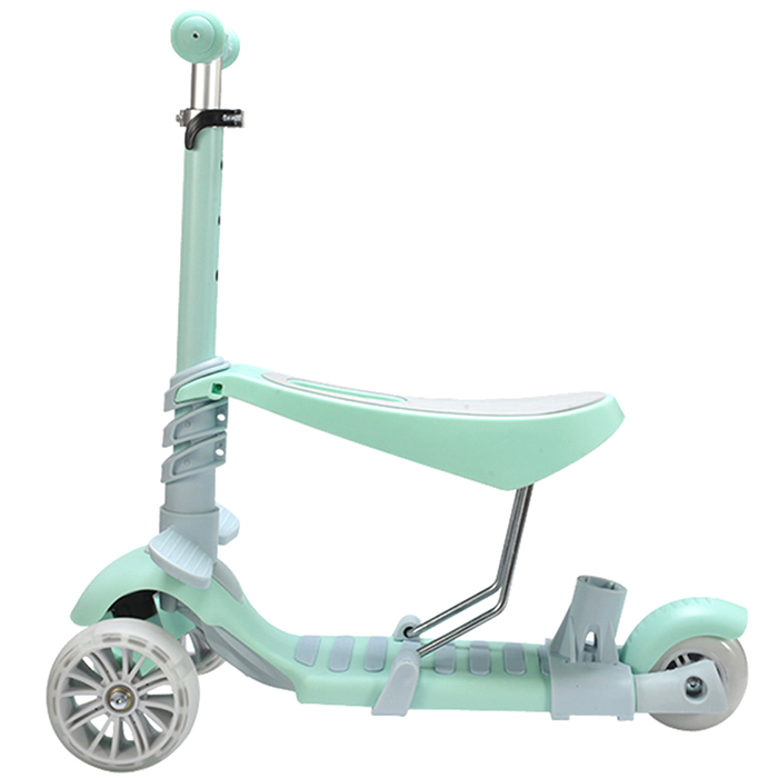 5 In 1 Double Mode Scooter With Three Wheels For Children Kids Growing Up Outdoor Sport Balance Ride Bike Multi-Mode Toy growing up