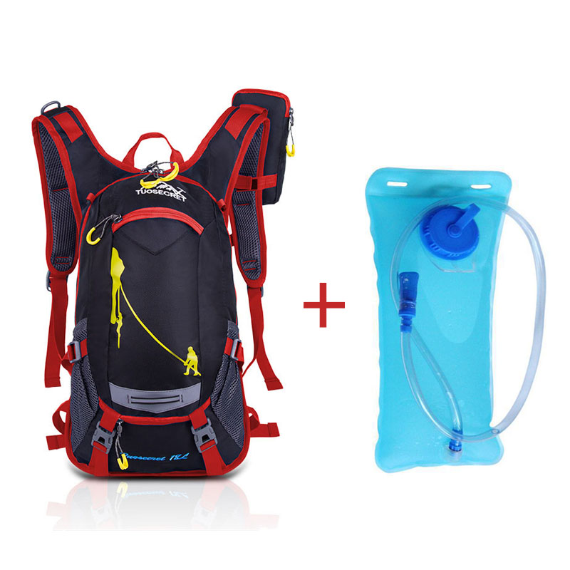 Red water bag