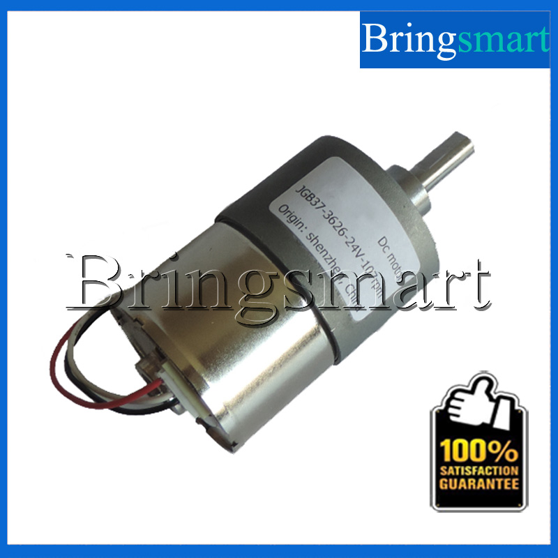 Bringsmart Brushless DC Gear Motor 24V DC Reducer Motor Low Noise High Torque 0.87-60kg.cm 12-24V Mini Motor 545 large torque dc 3 24v motor low noise motor wind turbines micro motor diy motor for diy toy accessories