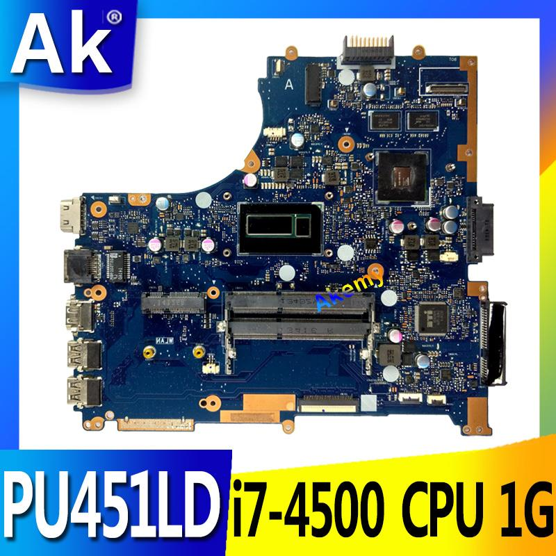 For ASUS PU451LD PU451 PU451L Motherboard With i7 CPU GT820M REV2.0 Mainboard