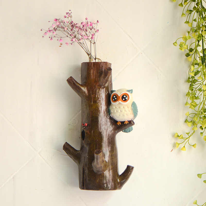 Free Shipping Pastoral Vintage Style Owl On Sticks Resin Wall Hook Decorative Wall Hanger Home Decoration Kids Room Decor Hanger Wall Stick On Hookswall Hanger Kids Aliexpress