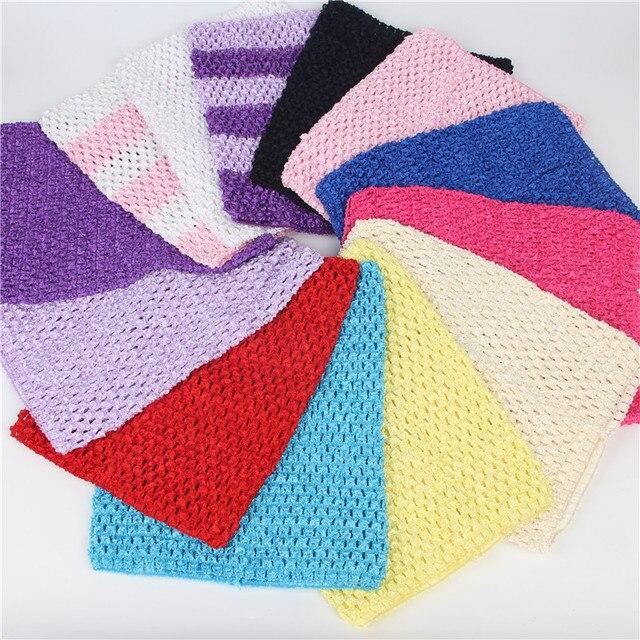 1 3 Years Old 15x15cm Tulle Crochet Tutu Top Chest Wrap Tube Diy