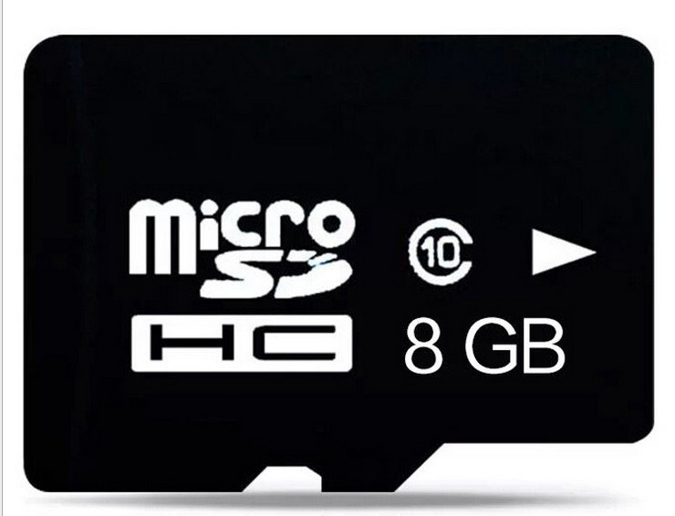 Image 2 - 50PCS/LOT 8GB TF Card Micro SD Card TF Memory Card C10 High Speed!!!-in Micro SD Cards from Computer & Office