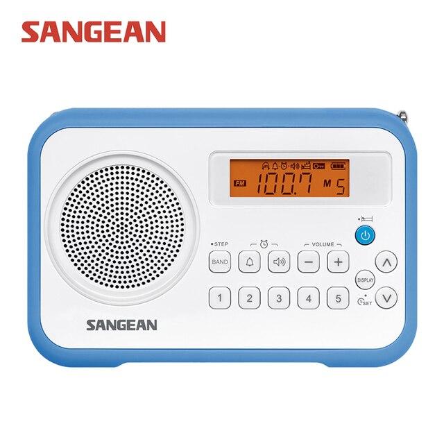 Sangean PR-D18 AM/FM/Часы Портативный Цифровой Радио
